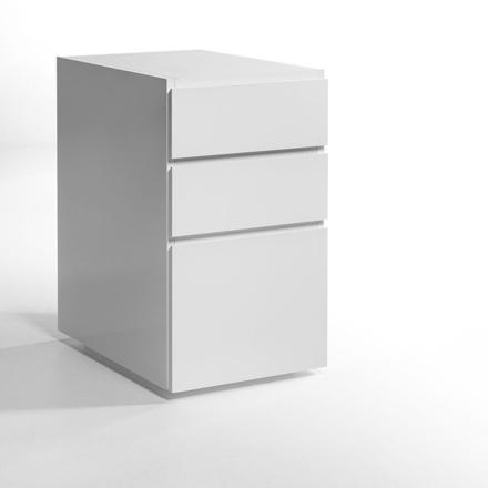 caisson tiroir blanc