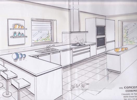 dessiner sa cuisine