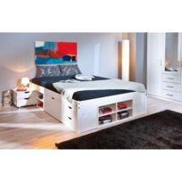 lit avec rangement 160x200
