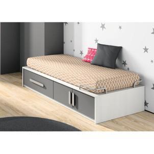 lit une place avec rangement