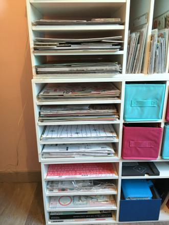rangement pour papier