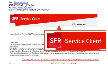 service sfr