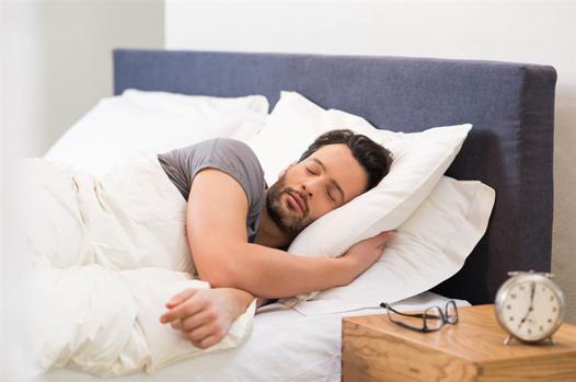 sleep in bed
