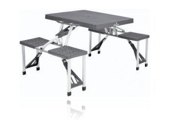 table de camping pliable