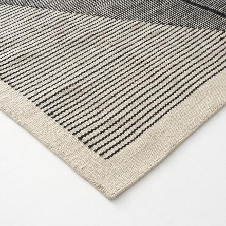 tapis tissé à plat