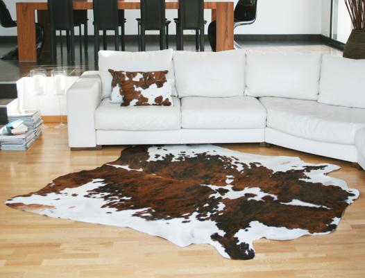tapis vache