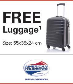 american tourister promo
