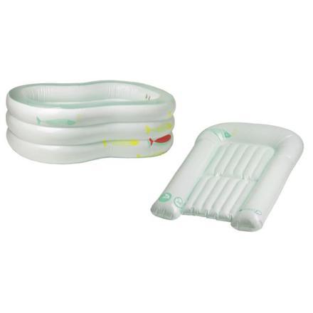 baignoire gonflable bébé confort