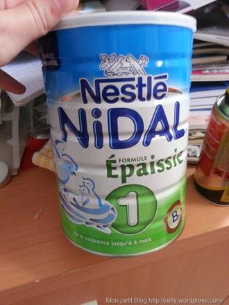 boite lait bebe