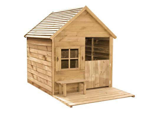 cabane bois enfant