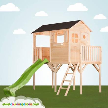 cabane sur pilotis enfant