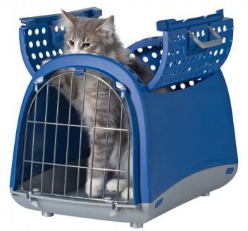 cage de transport grand chat
