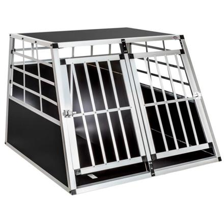 cage double chien