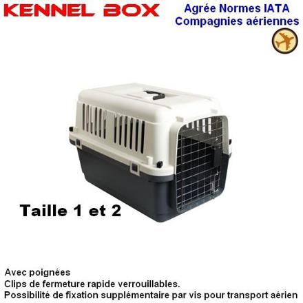 caisse chat avion