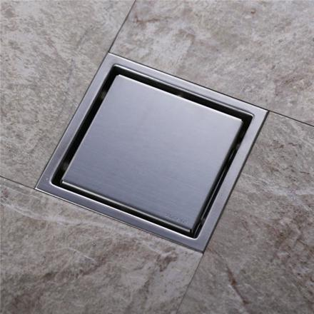caniveau inox salle de bain
