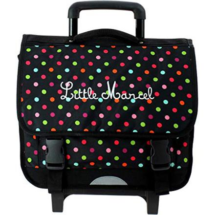 cartable little marcel a roulette