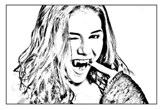 chica vampiro dessin