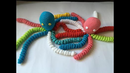 doudou pieuvre
