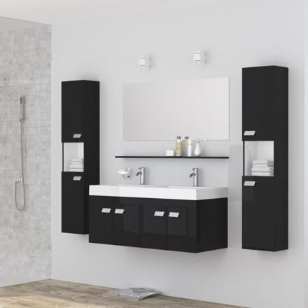 ensemble salle de bain double vasque