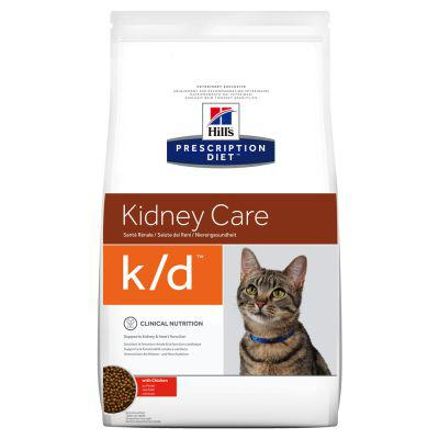 hill's prescription diet k d kidney care pour chat