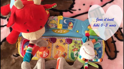 jeux d éveil bébé 3 mois