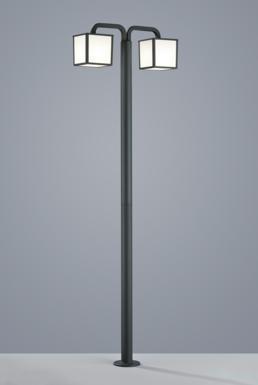 lampadaire exterieur led