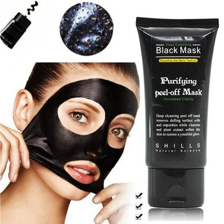masque au charbon