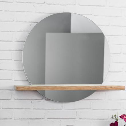 miroir salle de bain rond