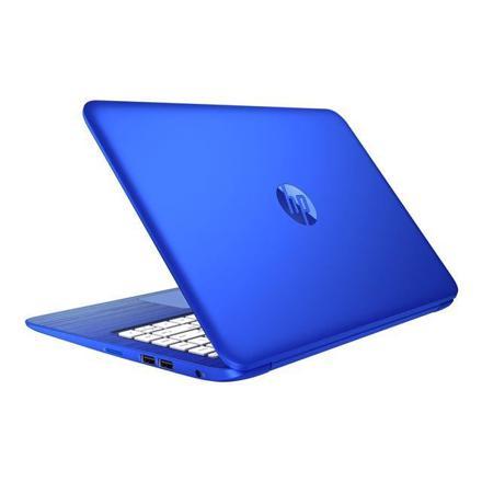 ordinateur bleu