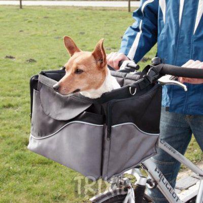 panier pour chien velo