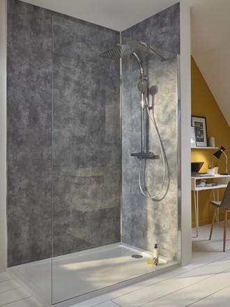 panneau mural salle de bain