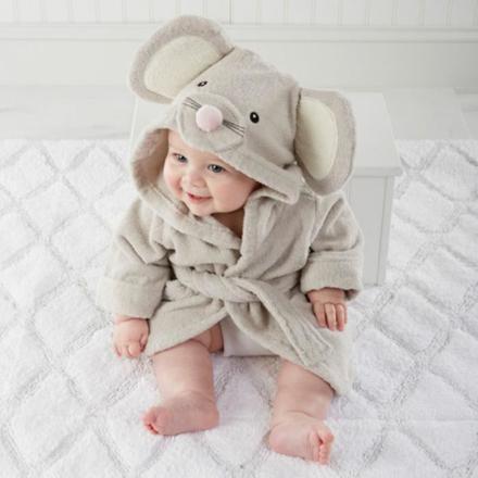 peignoir de bain bébé
