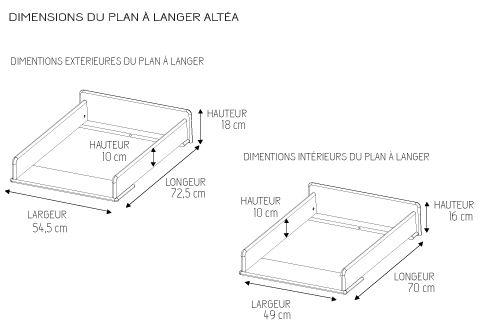 plan table à langer