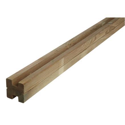 poteau bois cloture