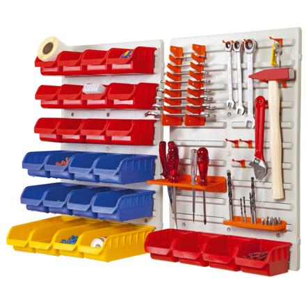 rangement outils mural