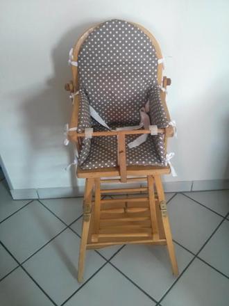 sangle chaise haute