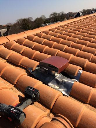 sortie vmc toiture