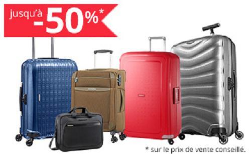 valise samsonite promo