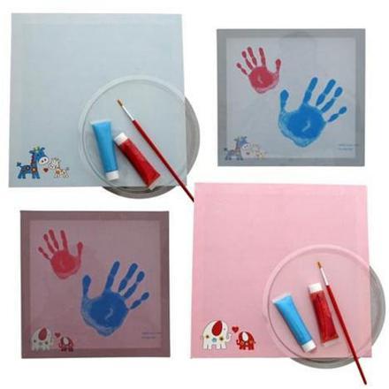empreinte bébé peinture