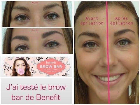 teinture sourcils benefit